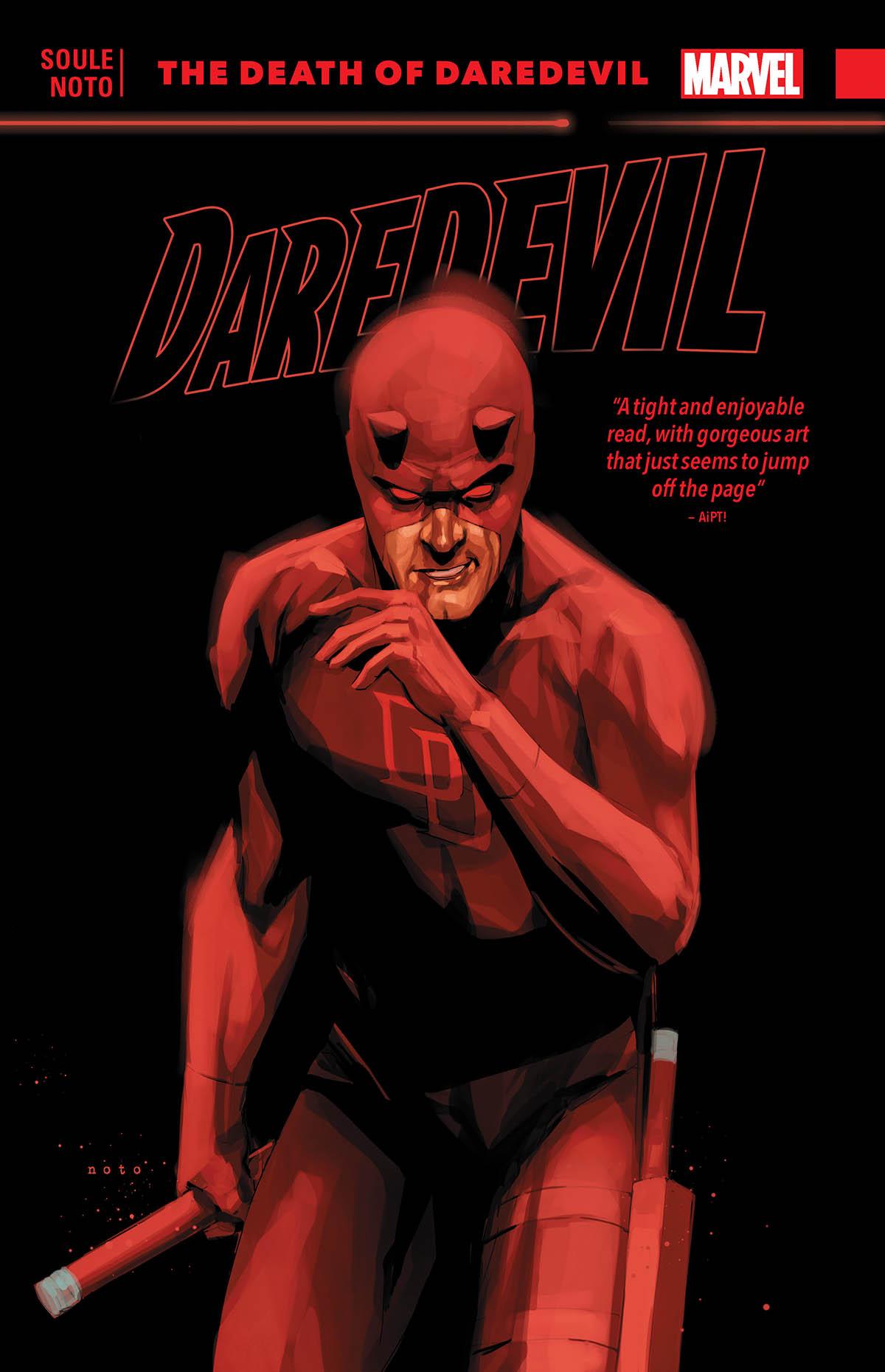 Daredevil: Back in Black Vol. 8 - The Death of Daredevil (Trade Paperback)