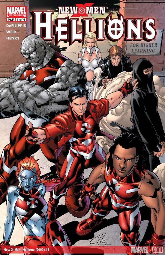 New X-Men: Hellions (2005) #1