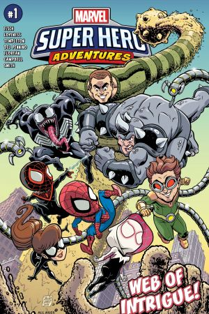 Marvel Super Hero Adventures: Spider-Man - Web of Intrigue #1