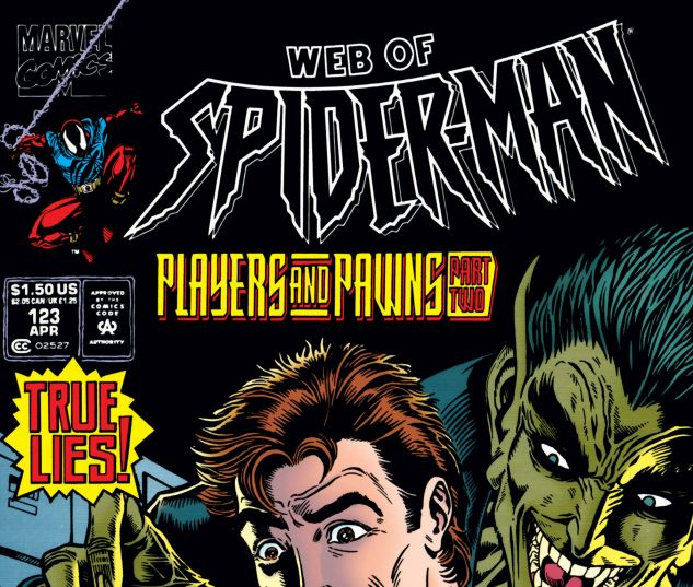 WEB OF SPIDER-MAN (1985) #123