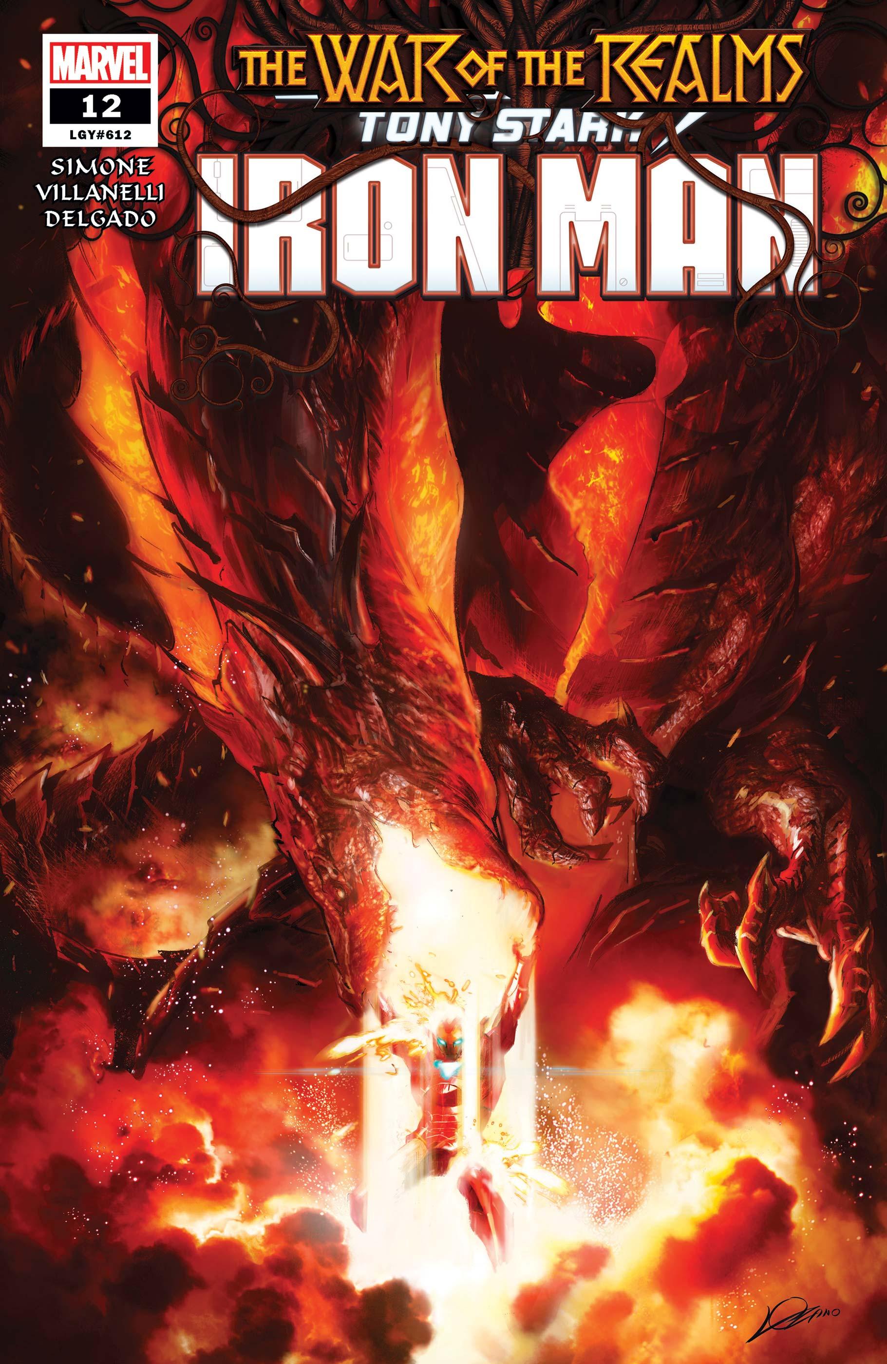 Tony Stark: Iron Man (2018) #12
