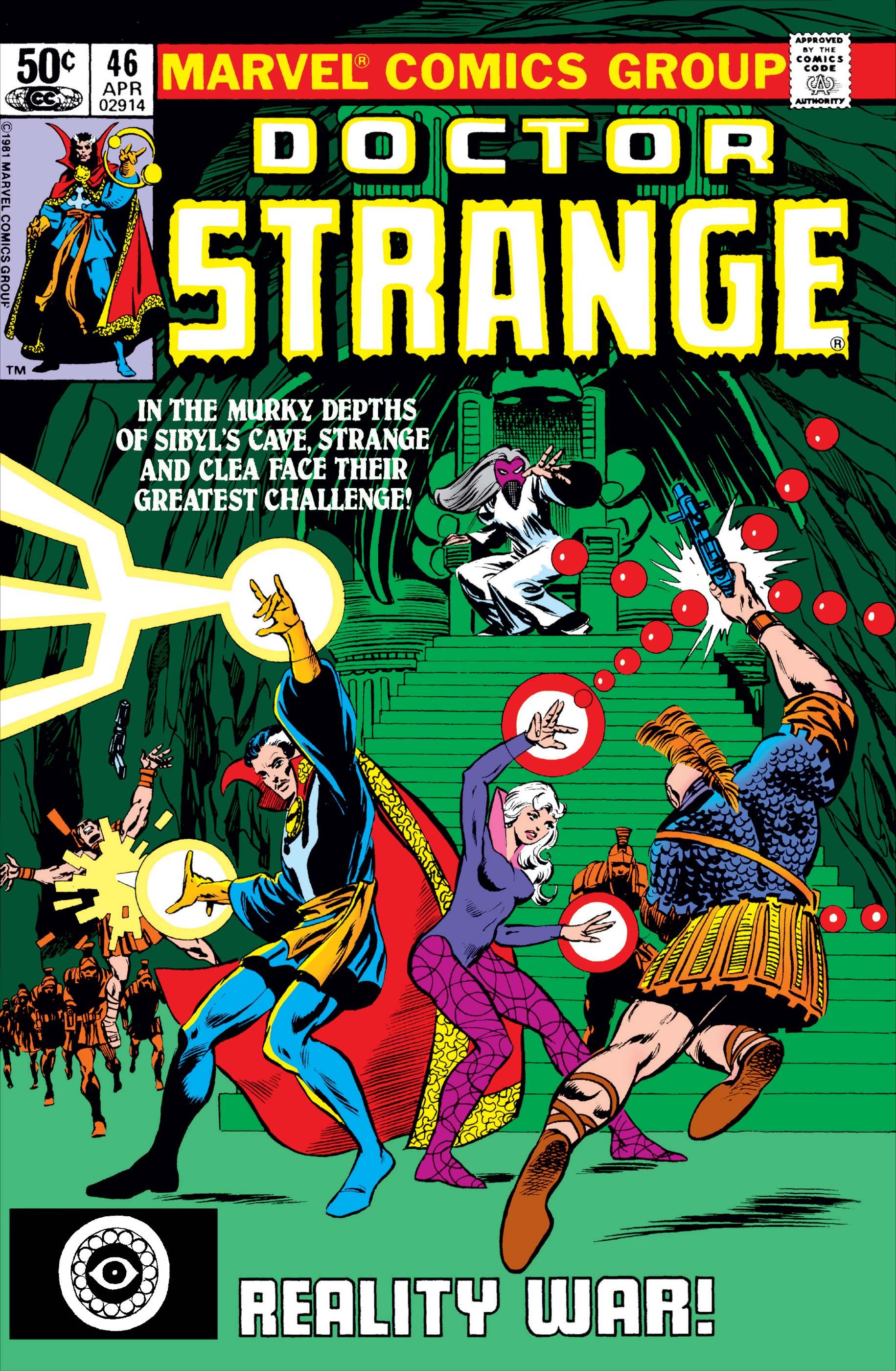 Doctor Strange (1974) #46