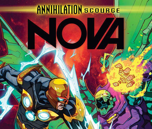 ANNIHILATION - SCOURGE: NOVA 1 PETROVICH VARIANT #1
