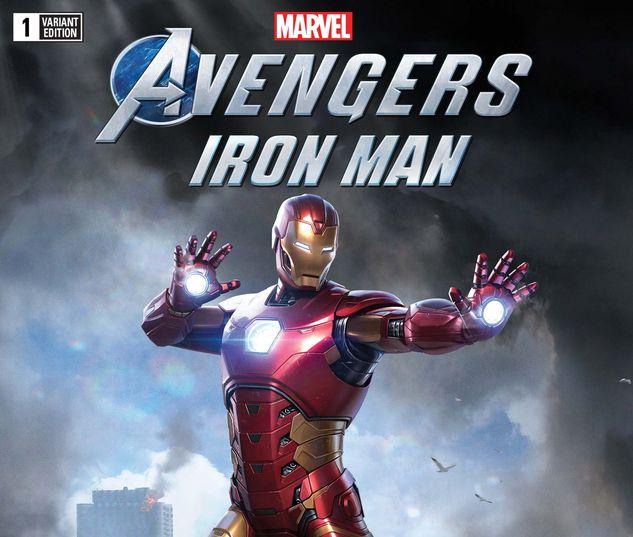 MARVEL'S AVENGERS: IRON MAN 1 GAME VARIANT #1
