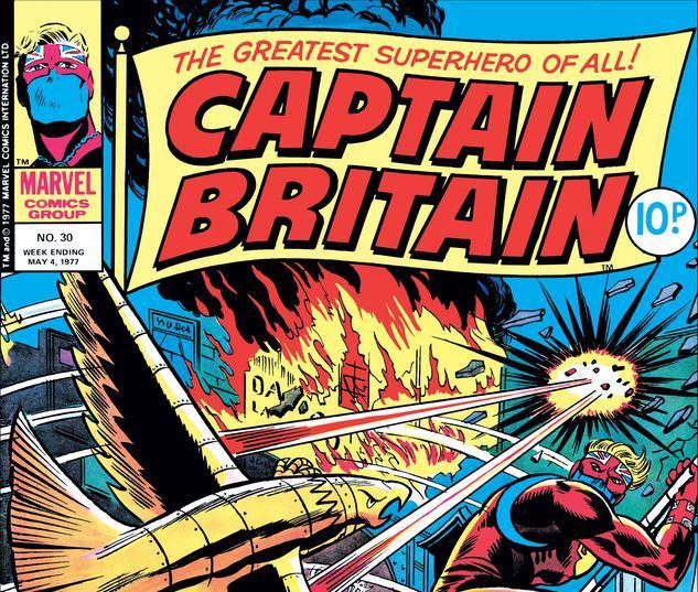 Captain Britain #30