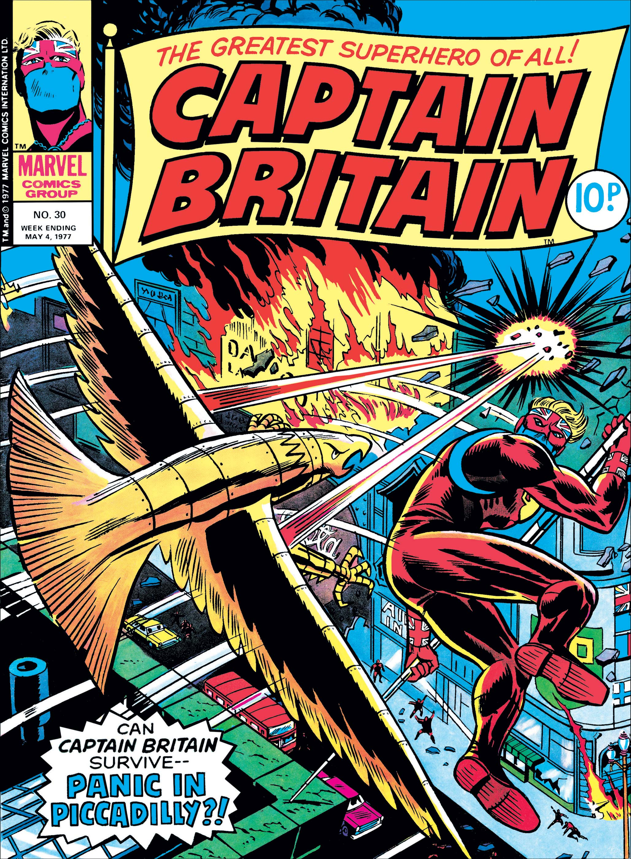 Captain Britain (1976) #30