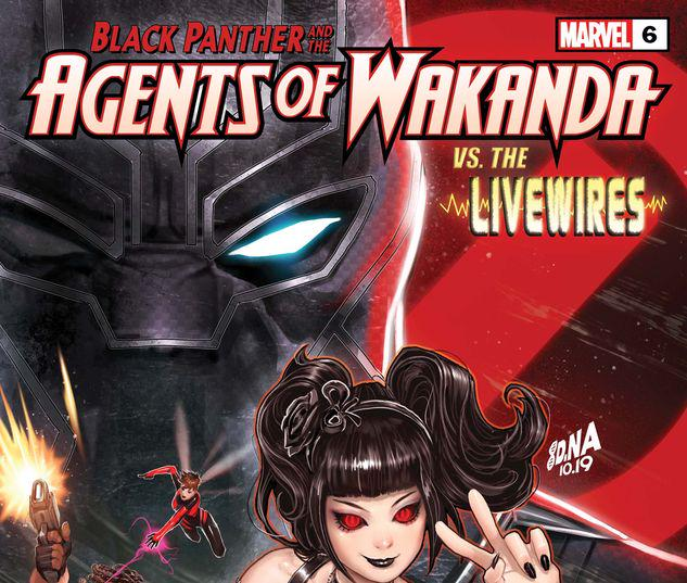 Black Panther and the Agents of Wakanda #6