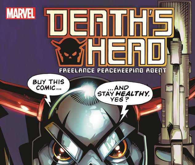 DEATH'S HEAD: FREELANCE PEACEKEEPING AGENT TPB #1