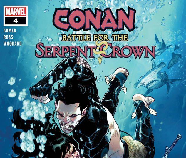 Conan: Battle for the Serpent Crown #4