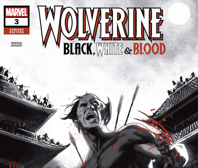 Wolverine: Black, White & Blood #3