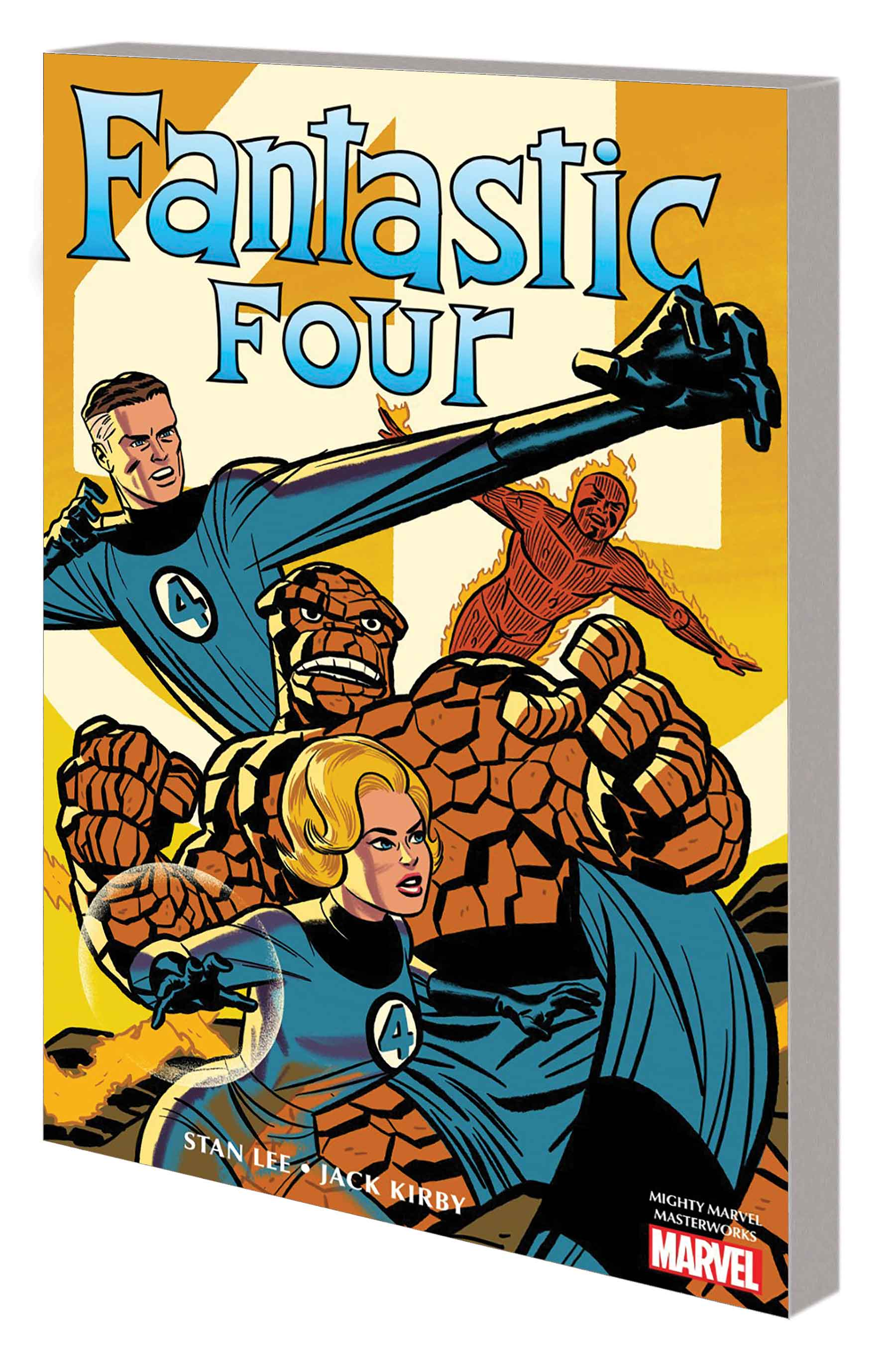 MIGHTY MARVEL MASTERWORKS: THE FANTASTIC FOUR VOL. 1 - THE WORLD'S GREATEST HEROES GN-TPB MICHAEL CHO COVER (Trade Paperback)