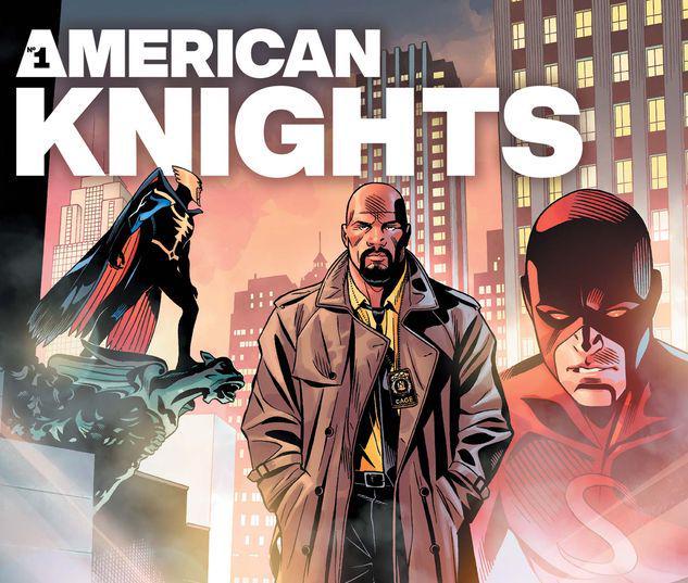 HEROES REBORN: AMERICAN KNIGHTS 1 #1
