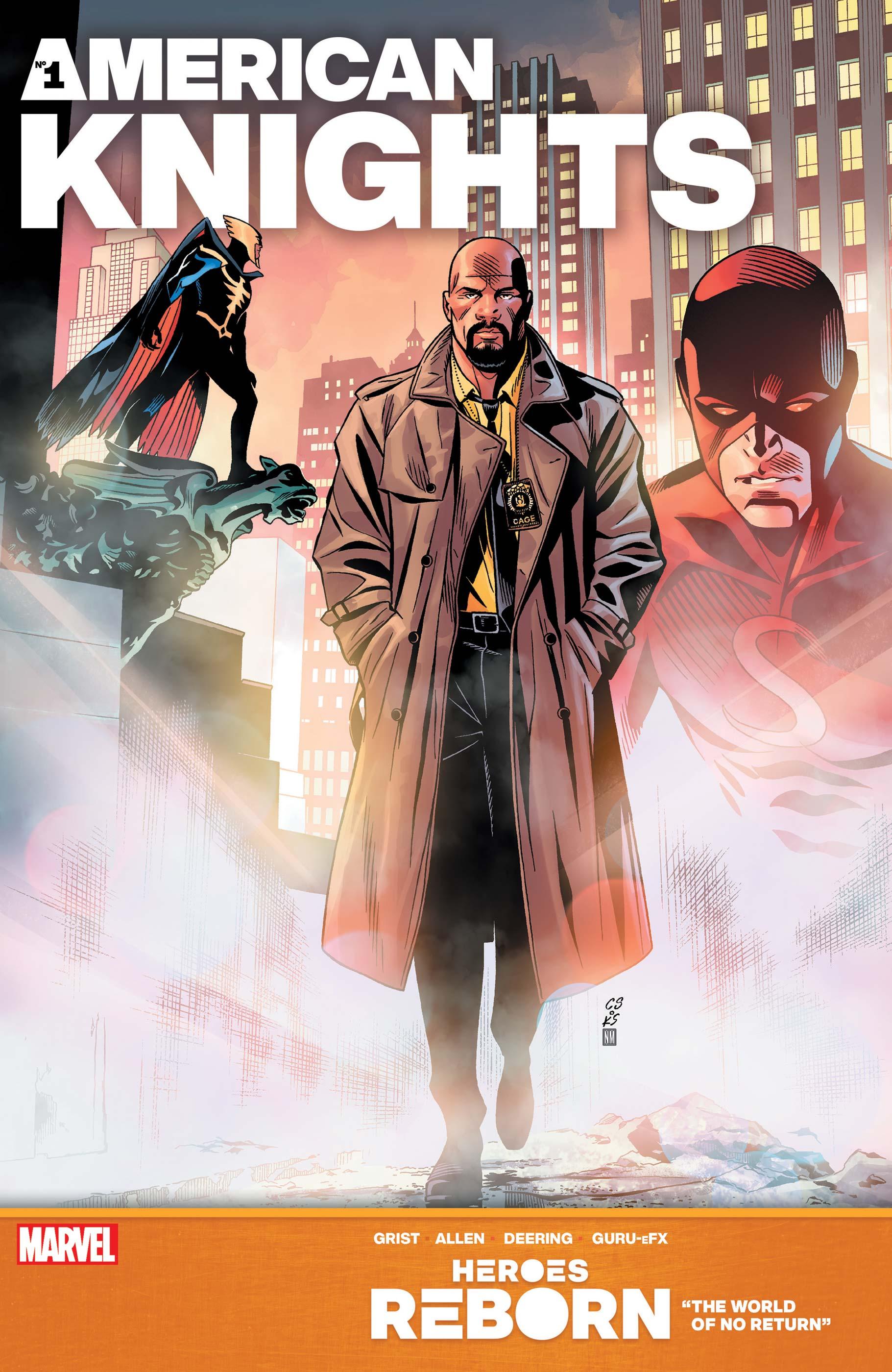 Heroes Reborn: American Knights (2021) #1