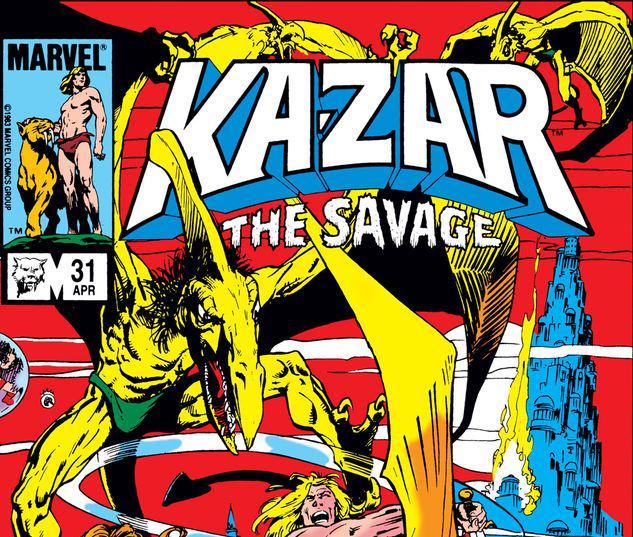 Ka-Zar the Savage #31
