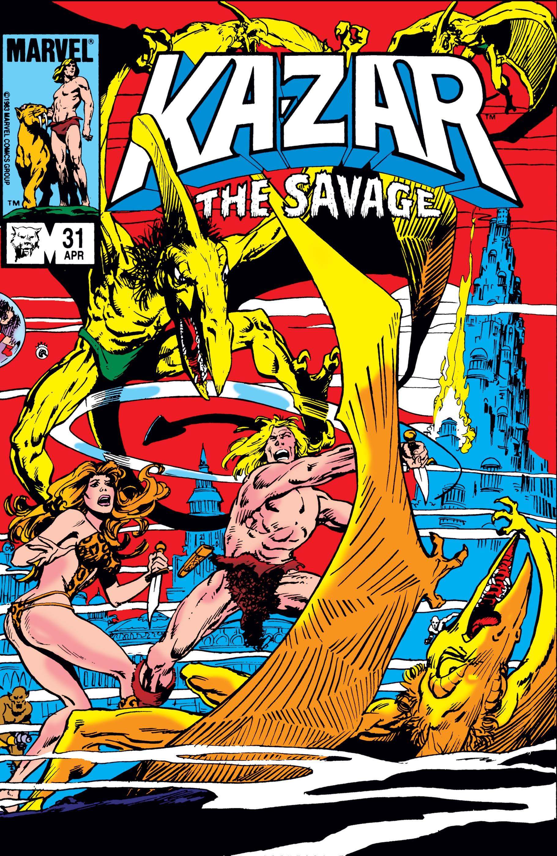 Ka-Zar (1981) #31