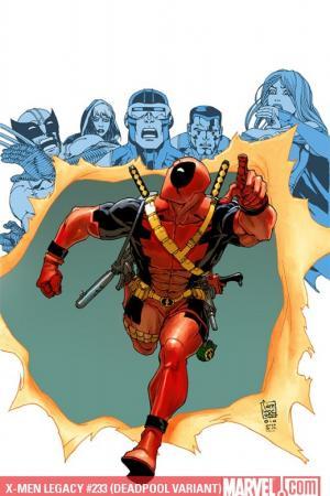 X-Men Legacy (2008) #233 (DEADPOOL VARIANT)