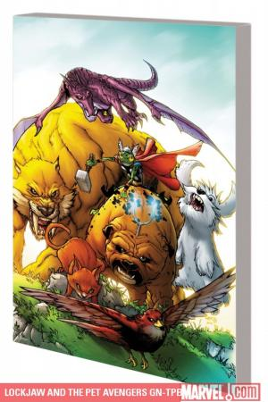 Lockjaw and the Pet Avengers (Graphic Novel)
