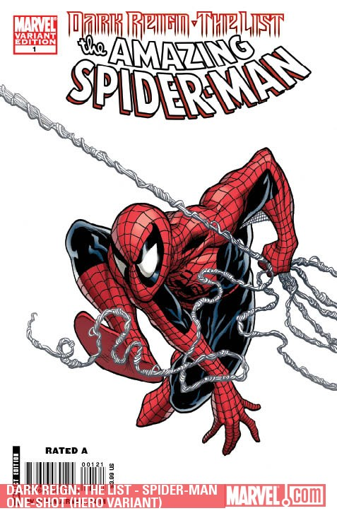 Dark Reign: The List - Spider-Man One-Shot (2009) (HERO VARIANT)