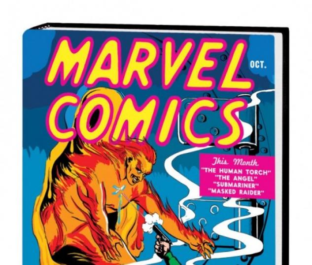 Kingdom Comics Free Comic Book Day: Golden Age Marvel Comics Omnibus Vol. 1 (Hardcover