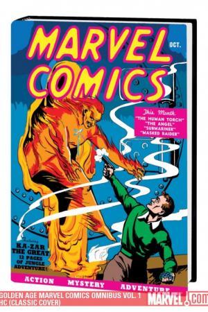 Golden Age Marvel Comics Omnibus Vol. 1 (2009 - Present)