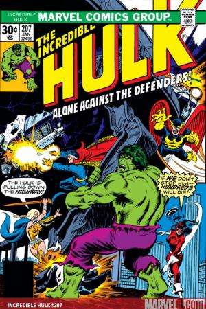 Incredible Hulk #207