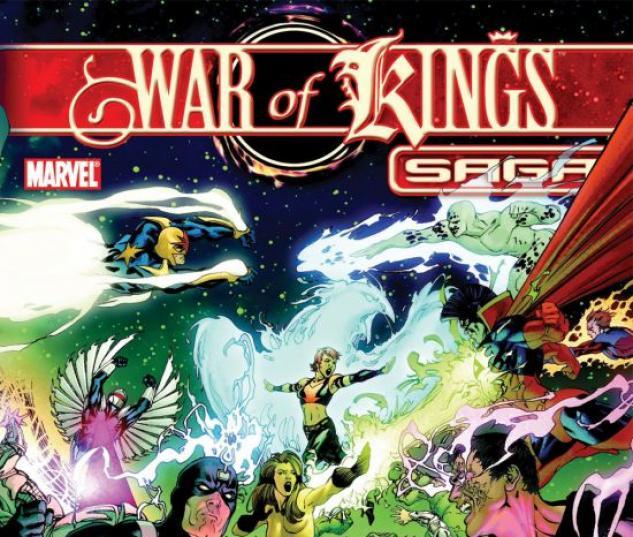 War of Kings Saga (2008) #1