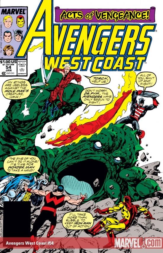 Avengers West Coast (1985) #54