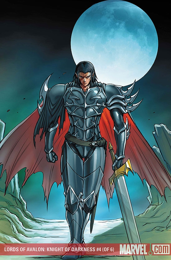 Lords of Avalon: Knight of Darkness (2008) #4
