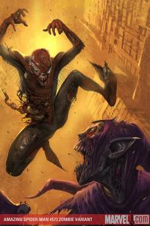Amazing Spider-Man (1999) #573 (ZOMBIE VARIANT (1 FOR 10))