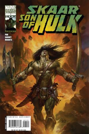 Son of Hulk (2008) #1 (BELL VARIANT)