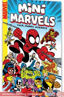 Mini Marvels: Rock, Paper, Scissors (Digest)