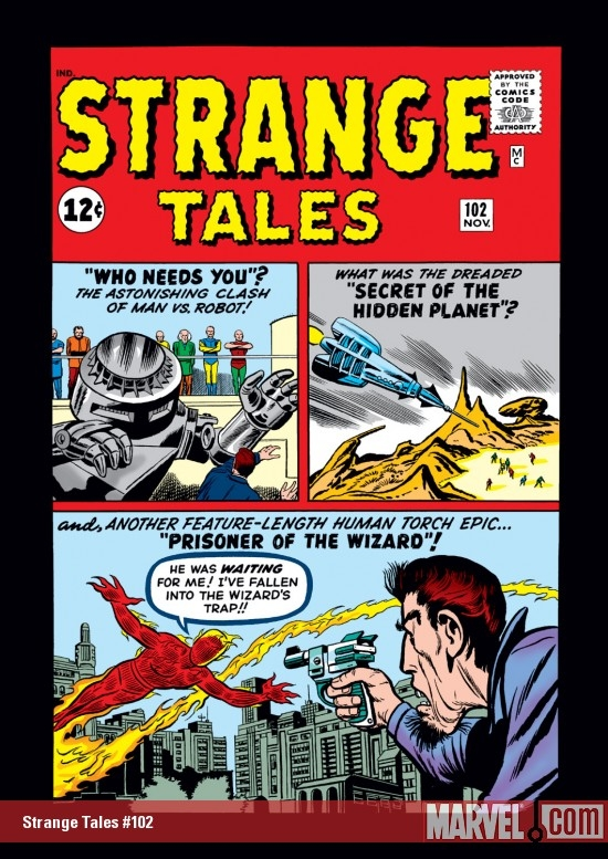 Strange Tales (1951) #102