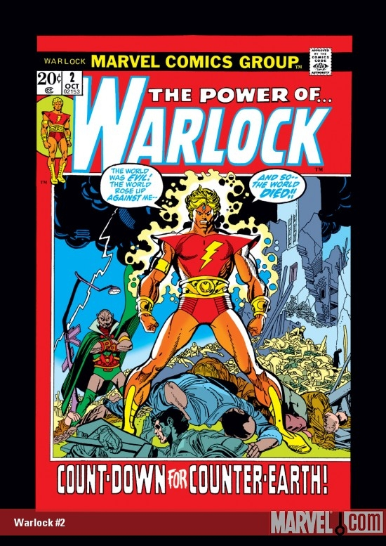 Warlock (1972) #2