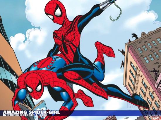 Amazing Spider-Girl (2006) Wallpaper