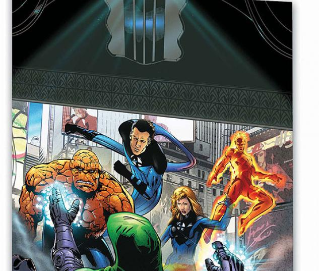 MARVEL ADVENTURES FANTASTIC FOUR VOL. 9: NEW YORK'S FINEST #0