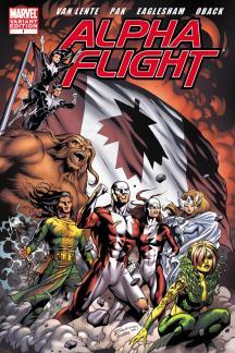 Alpha Flight (2011) #1 (Eaglesham Variant)