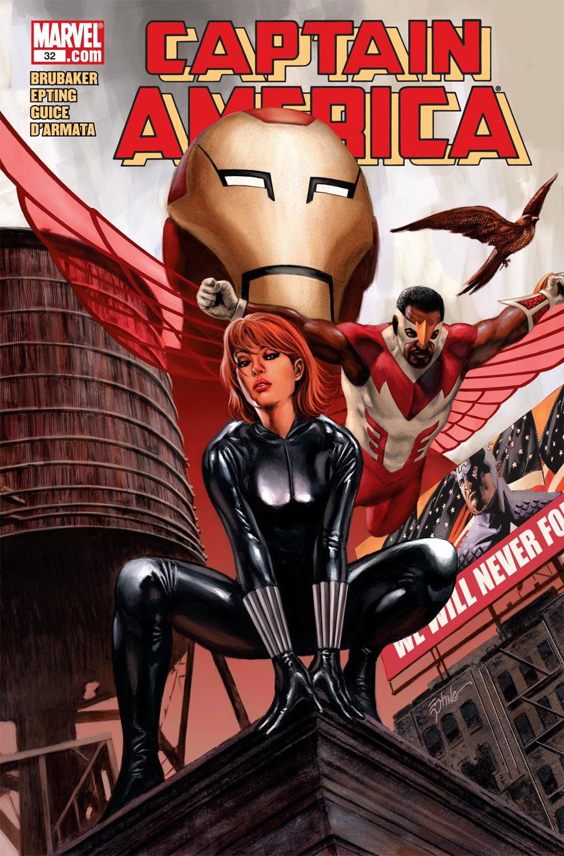 Captain America (2004) #32