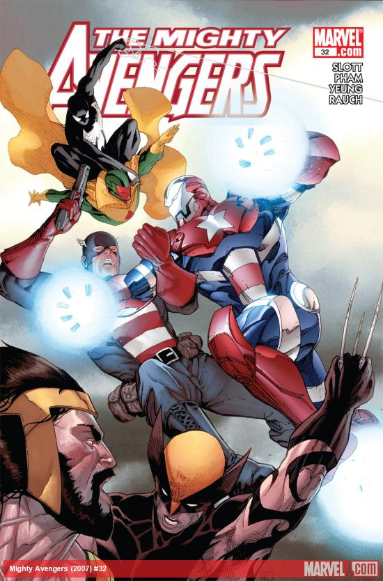 The Mighty Avengers (2007) #32