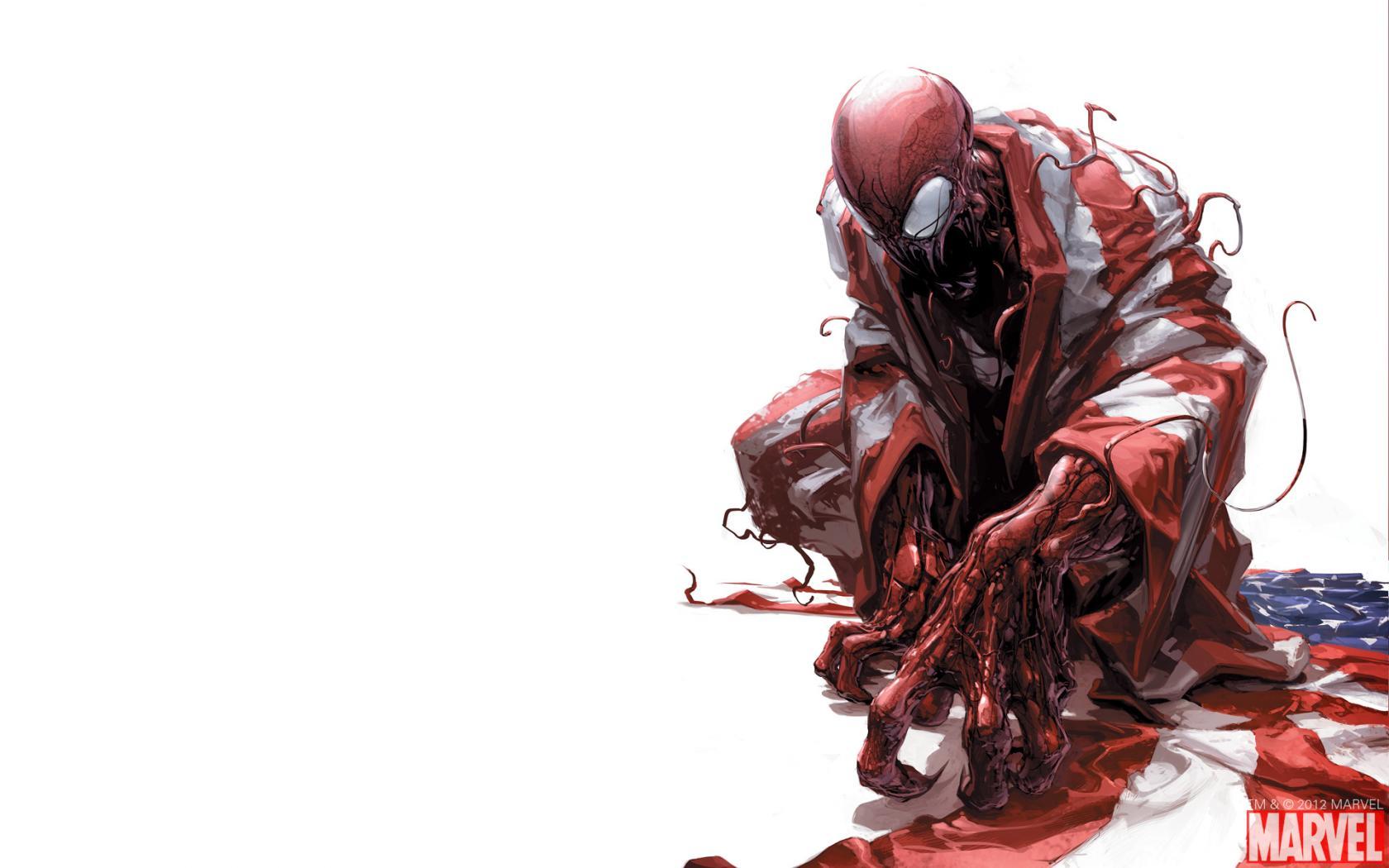 """Обзор серии комиксов """"Carnage U.S.A."""""""