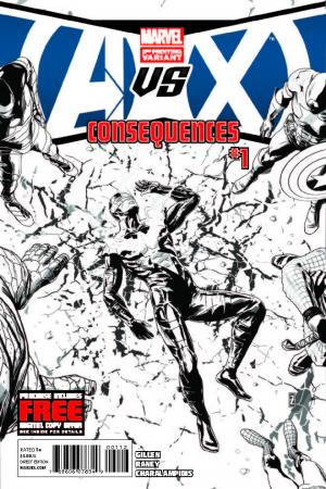 Avengers Vs. X-Men: Consequences (2012) #1 (2nd Printing Variant)