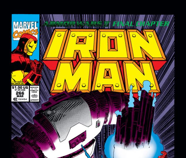 Iron Man (1968) #266 Cover