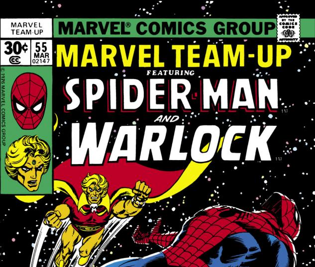 Marvel Team-Up (1972) #55 Cover
