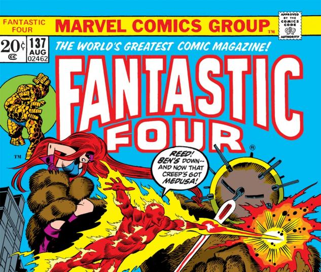 Fantastic Four (1961) #137 Cover