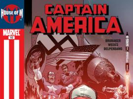 Cover: Captain America (2004) #10 - House of M tie-in