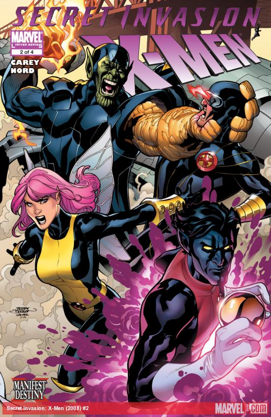 Secret Invasion: X-Men (2008) #2