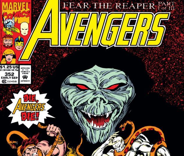 Avengers (1963) #352 Cover