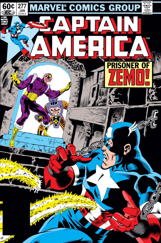 Captain America (1968) #277