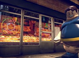 The Blob in LEGO Marvel Super Heroes