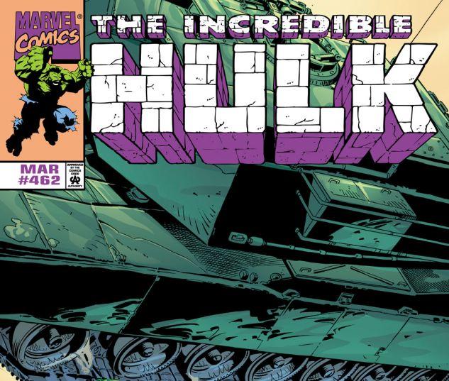 Incredible Hulk (1962) #462 Cover