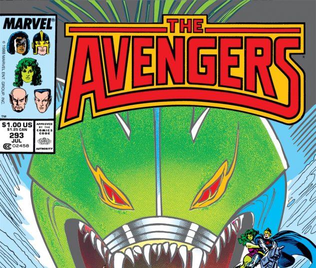Avengers (1963) #293 Cover